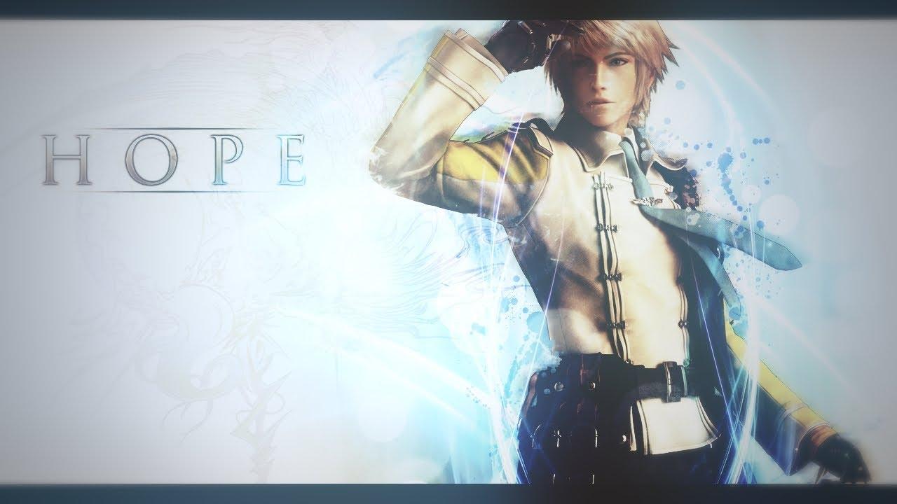 Final Fantasy 13-2 Hope Wallpaper Speedart - YouTube