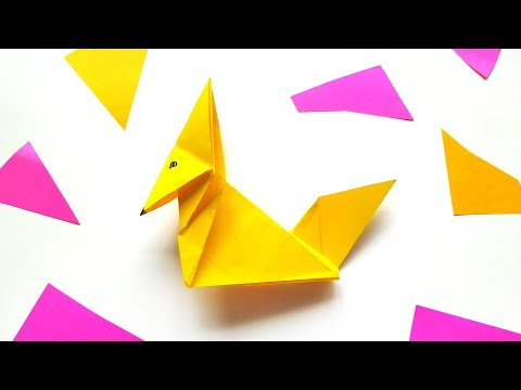how-to-make-origami-fox---diy-paper-animal-crafts-tutorial