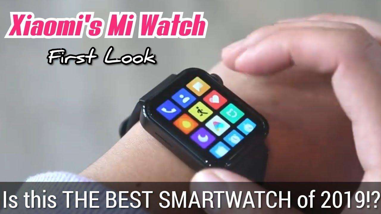 Xiaomi Mi Watch – First Look – 2019's Best Smartwatch !?