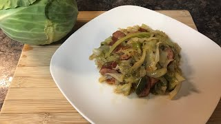 The Best Fried Cabbage Ever | Cook with Me | NotesfromNancy