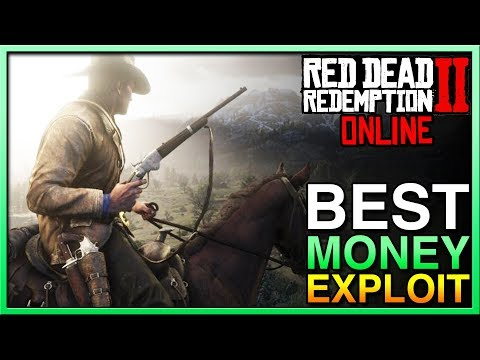 Red Dead Redemption 2 Online - BEST MONEY GLITCH in Red Dead Online! Easy Money in RDR2 Online!
