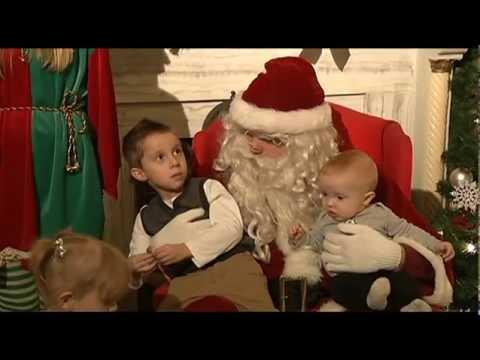 Santa Visits The Lorain Palace 12-8-12