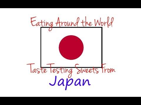 American Tries Japanese Snacks - JAPAN - Eating Around the World: Taste Testing!