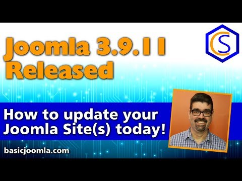 🗞 Live Bulletin -  🔧Joomla! 3.9.11 Security and Bug Release - 2 How to update Joomla Tutorials thumbnail
