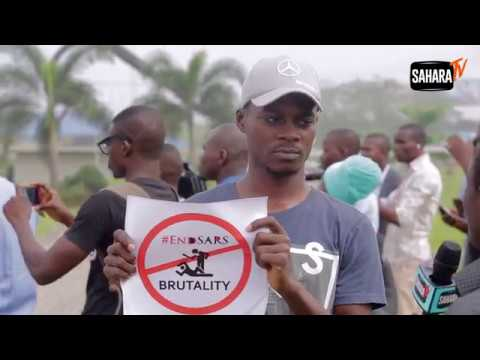 #EndSARS: Protesters Speak As Lagosians March To Demand Scrapping Of SARS