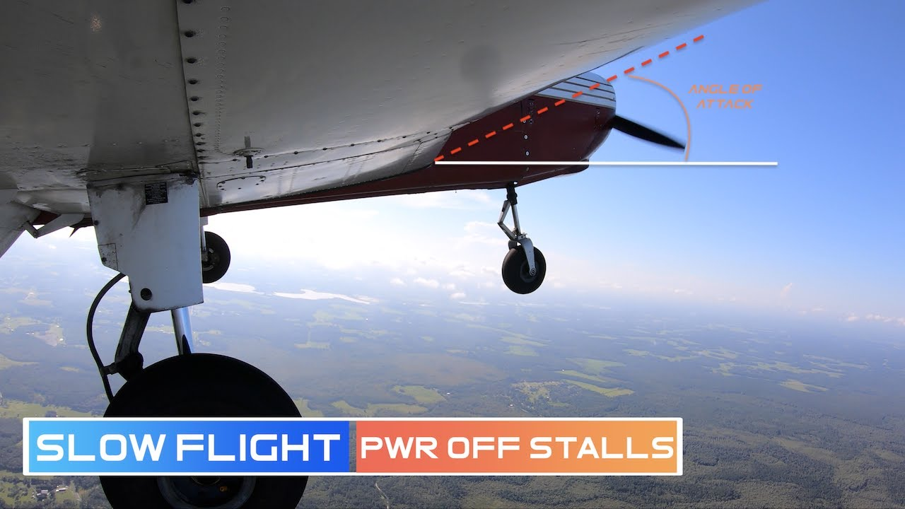 Important Skills For Landing - Slow Flight & Stalls| PA28