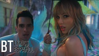 Cover images Taylor Swift - ME! (feat. Brendon Urie of Panic! At The Disco) (Lyrics + Español) Video Official
