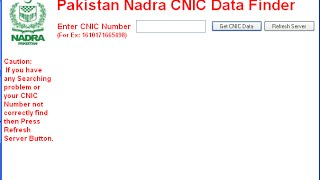 Nadra Card Find De Free