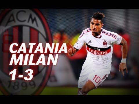 Catania-Milan 1-3