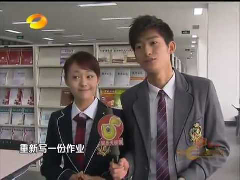 [BTS] 100426 HanShuang @ Let's Watch Meteor Shower Again on-set interview