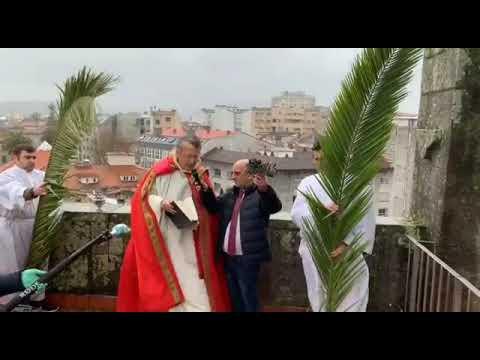 """El """"gesto sencillo"""" de Santa María para celebrar un atípico inicio de Semana Santa"""