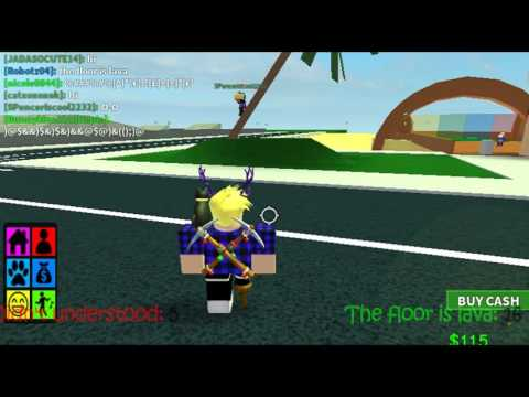Roblox - The Floor is Lava ! (In public)