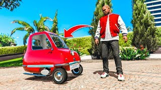 The Smallest Car Ever In Gta 5! Mods