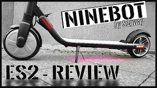 NINEBOT ES2 & kein Xiaomi M365 , Segway Scooter Unboxing, Review, Tutorial, Test (DEU-GER)