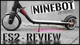 NINEBOT ES2 & kein Xiaomi M365 , Segway Scooter Unboxing, Review, Tutorial, Test (DEU-GER)