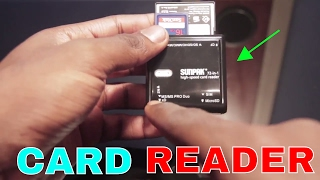 The ULTIMATE usb CARD READER | Sunpak 72-in-1 high speed card reader | Get Fixed