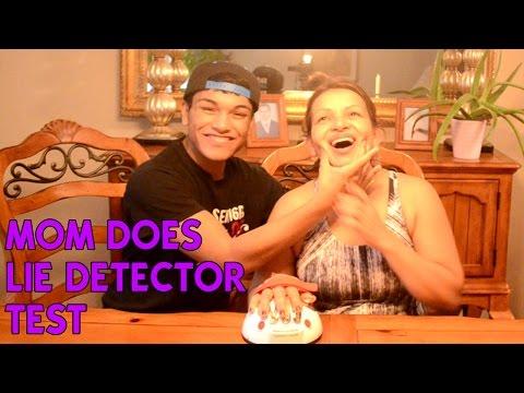 Mom Does Lie Detector Test