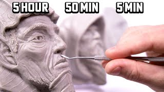SCULPTING IN: 5hr | 50min | 5min - They look so good!! #UCD1