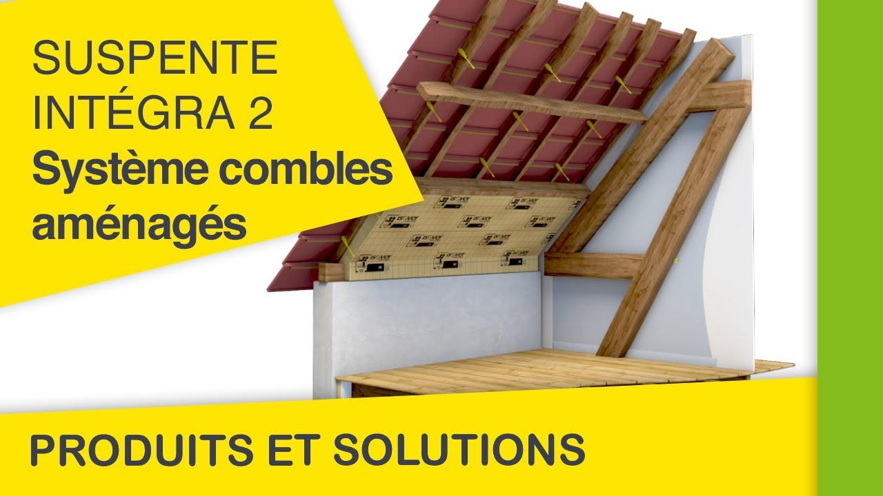 suspente integra 2 r glable youtube. Black Bedroom Furniture Sets. Home Design Ideas
