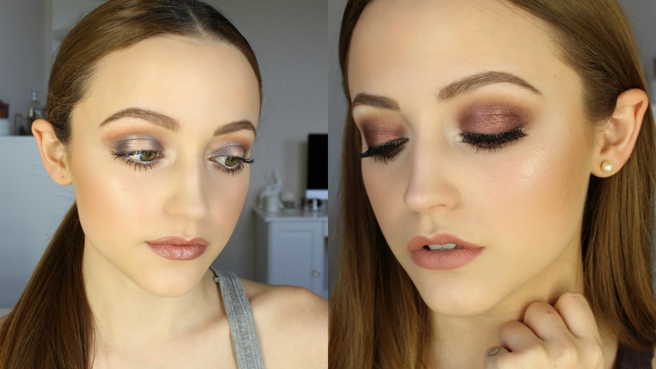 Two looks using too faced chocolate bar palette tutorial youtube baditri Images