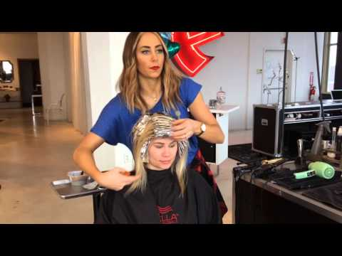 Caitlin's Featured Blonde Highlight Transformation