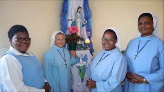 Litany to MARY - sung/prayed in ZULU by Sisters -LSMI