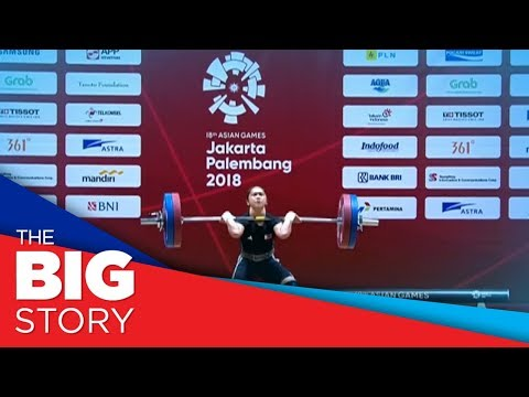 Hidilyn Diaz wins gold in 2018 Asian Games