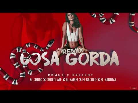 El Chulo x Chocolate x El Kamel x El Bacoco x El Nandiva - Cosa Gorda ( Official Remix )