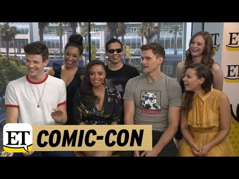 ComicCon 2018: The Cast Of The Flash Talks Season 5 Romance And 'Bromance'