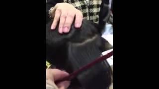Salon Tiệp Nguyễn chuyên xoăn kỹ thuật số . Máy là Băng phục hồi