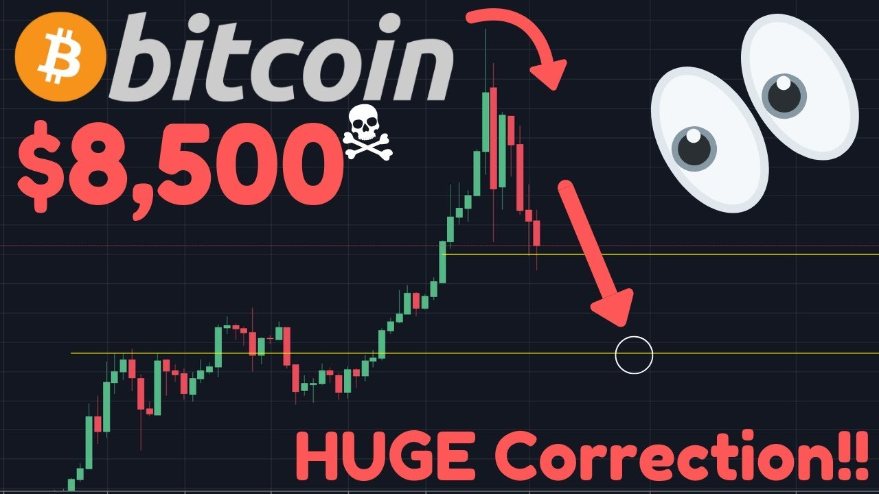 BITCOIN CRASH TO $8,500!! | Is $7,200 Possible? | ErisX Futures APPROVED | BTC Halving
