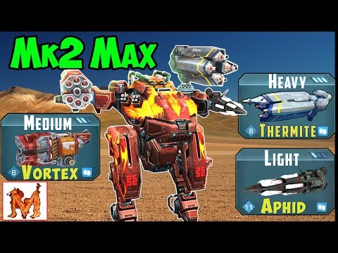 War Robots Mk2 Maxed Viewer Requests Spectre & Golem Gameplay