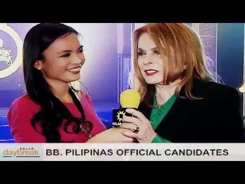 SOLAR DAYBREAK: Binibining Pilipinas 2013