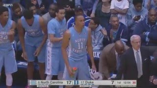 UNC Men's Basketball: Heels Down Duke 76-72, Clinch ACC Championship