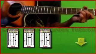 ♪♫  Mar adentro Letra Acordes Rasgueo Cómo tocar con guitarra Tutorial Cover Heroes del silencio
