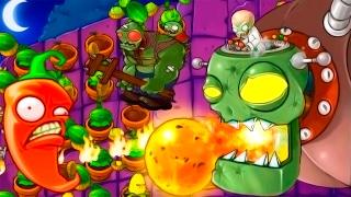 Игра - Растения Против Зомби - смотреть прохождение от Flavios #51
