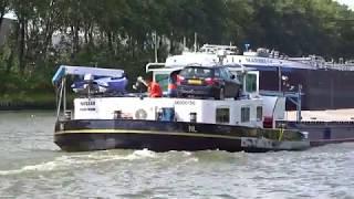⛴ 'NASSAU' vrachtschip, groet van de schipper, 06000196, uit Ouderkerk ad IJssel, gespot 05 08 2019