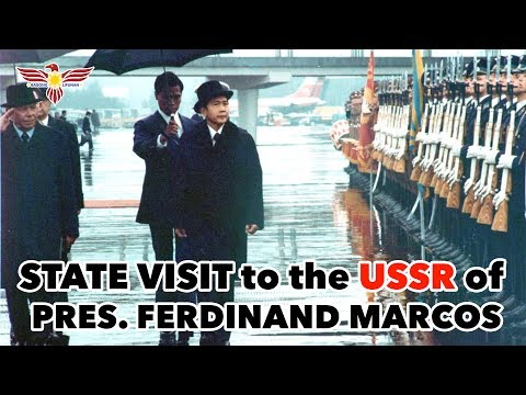 1976 State Visit to the USSR of President Ferdinand E. Marcos