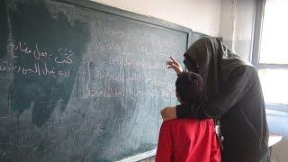 عائلات سورية في دير الزور ترفض تعليم أبنائها بمدارس داعش