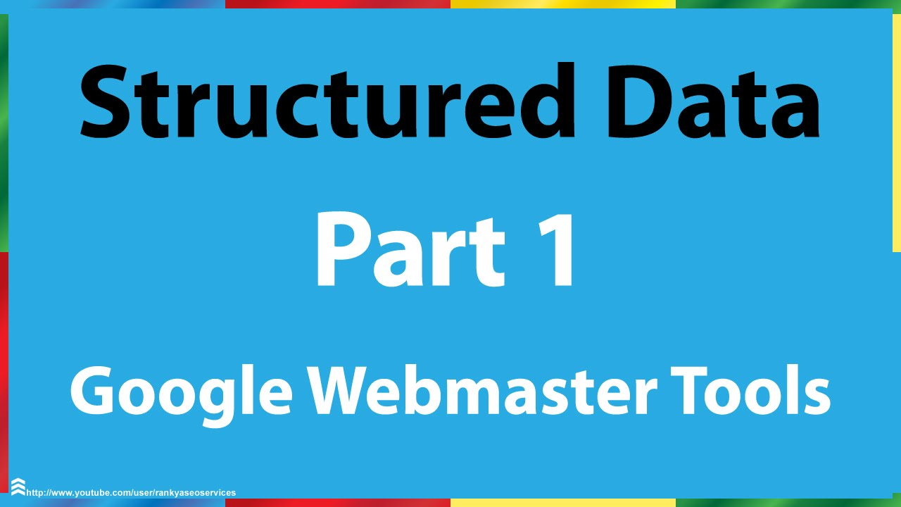 google search console structured data part 1 youtube