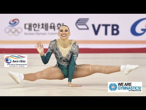 CONSTANTIN Oana Corina ROU  2016 Aerobic Worlds, Incheon KOR  Qualifications Individual Women