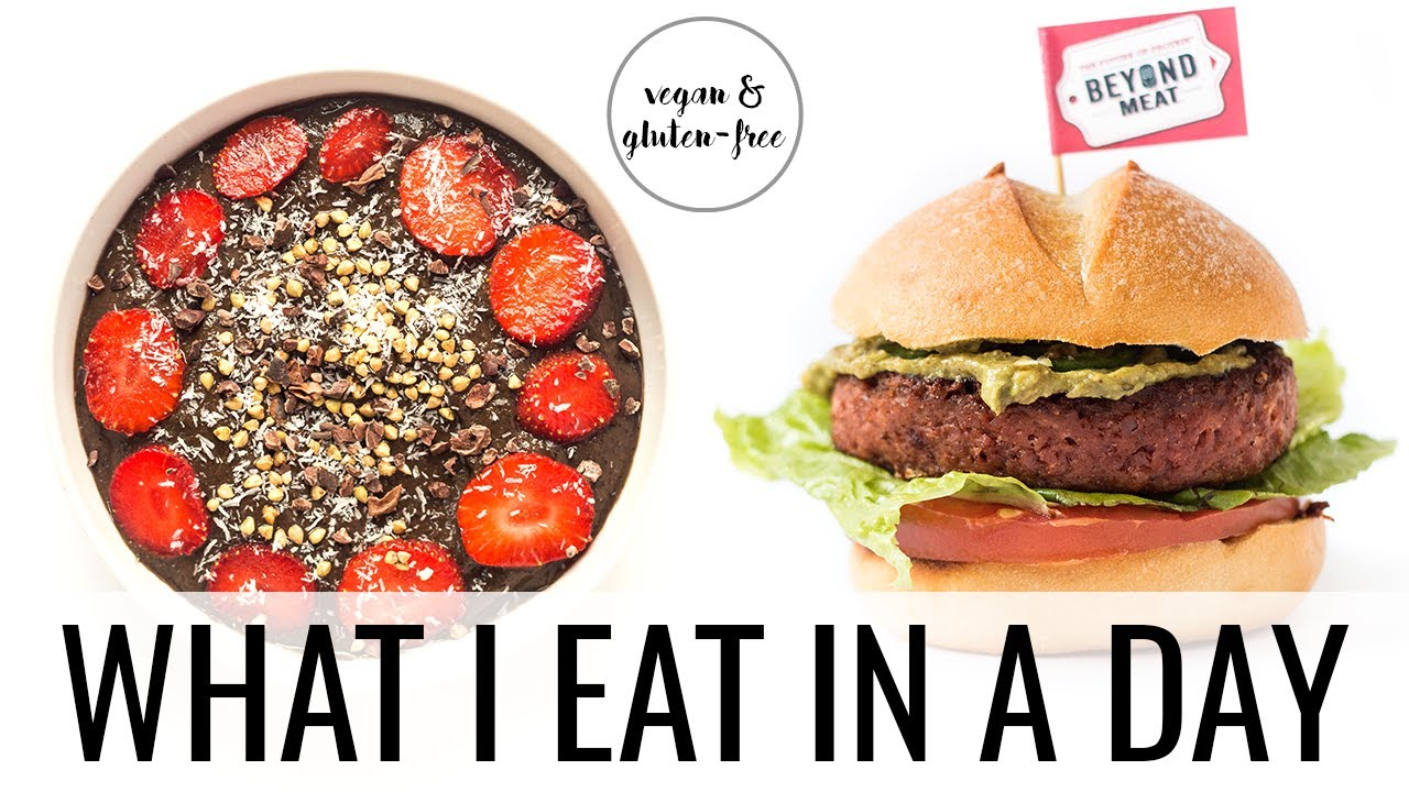 26. WHAT I EAT IN A DAY | beyond burger taste test