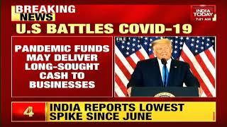 President donald trump has signed a usd 900 billion pandemic relief package that will deliver long-sought cash to businesses and individuals.#trump #covid #i...