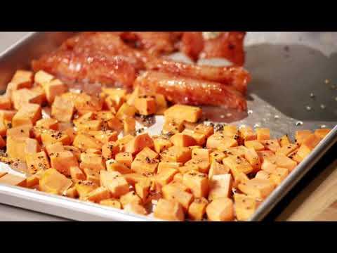 Jerk Chicken and Sweet Potatoes