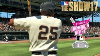 Barry Bonds vs Willie Mays | Home Run Derby | MLB The Show 17