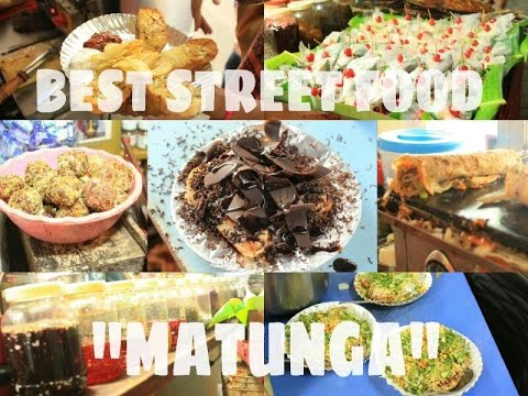 BEST STREET FOOD | IN MUMBAI | MATUNGA | CHOCOLATE SANDWICH, PASTA, MEETHA PAAN , BEST CHAT ITEM |