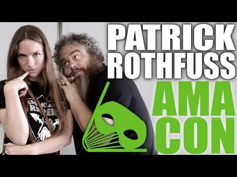 Writers Panel with Patrick Rothfuss, Rachel Caine, and A G Howard at AMA-Con