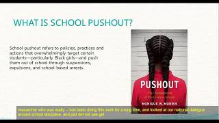 Webinar: If You Care About Stopping School Pushout, You Should Care About Reproductive Justice