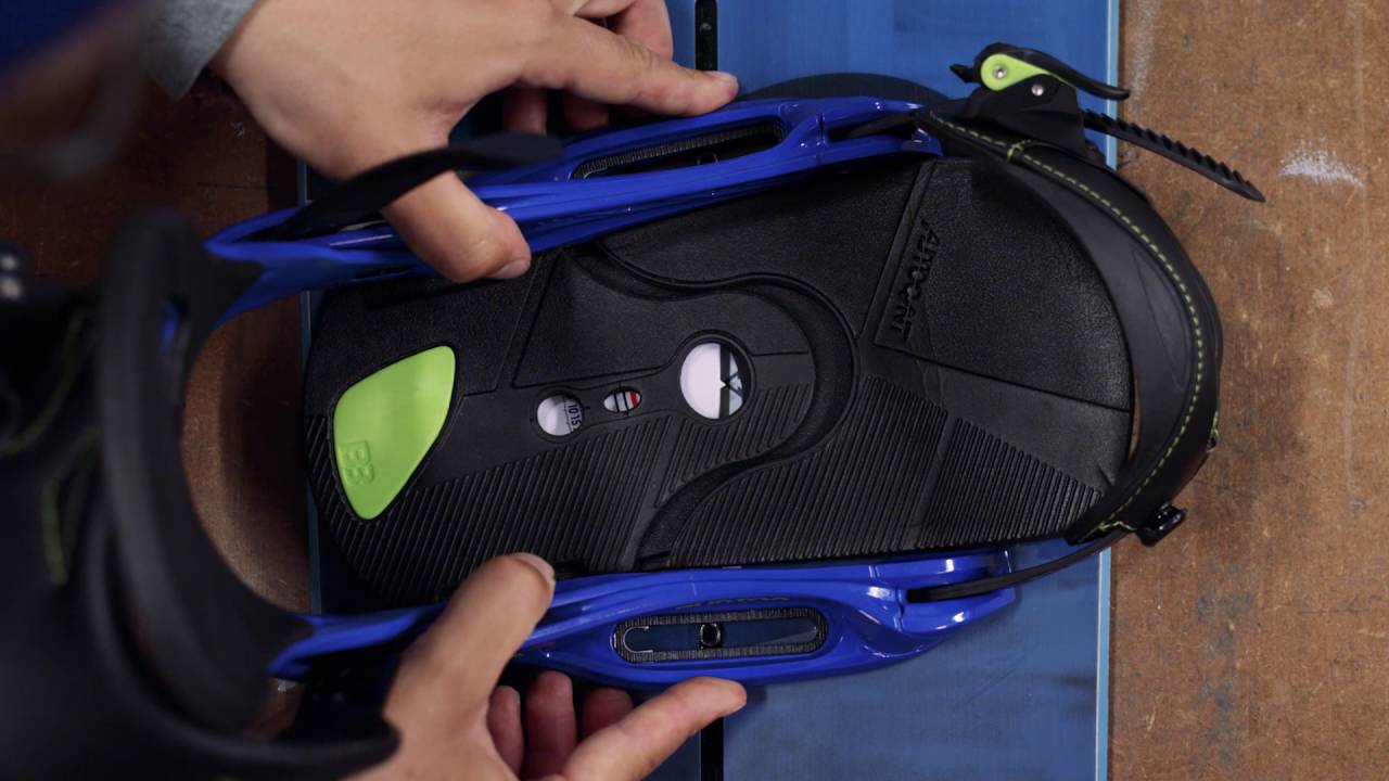 How to adjust your snowboard bindings whitelines s.