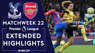 Crystal Palace v Arsenal  PREMIER LEAGUE HIGHLIGHTS  1112020  NBC Sports